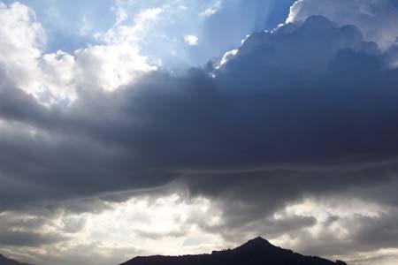 El cel d'aquest mati